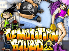 Автомат Demolition Squad на деньги